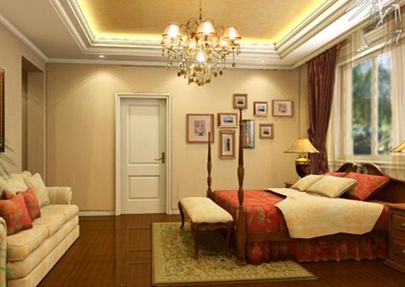 别墅精美卧室