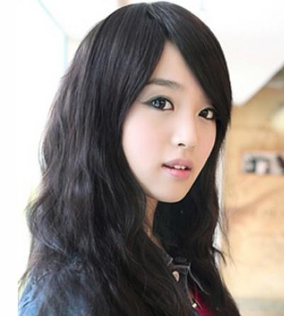 韩国甜美蛋卷头发型推荐