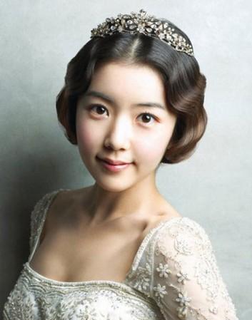 韩式新娘妆容唯美呈现 优雅大方只属于你图片