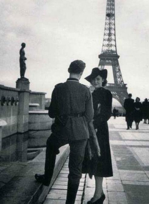 赞美法国街头风景