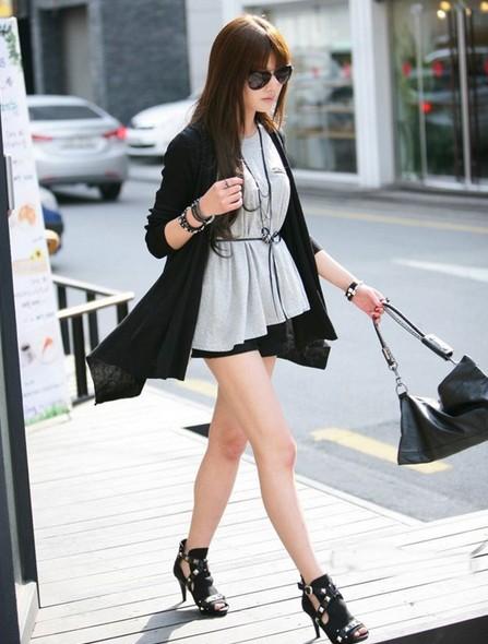 气质韩国美女街拍