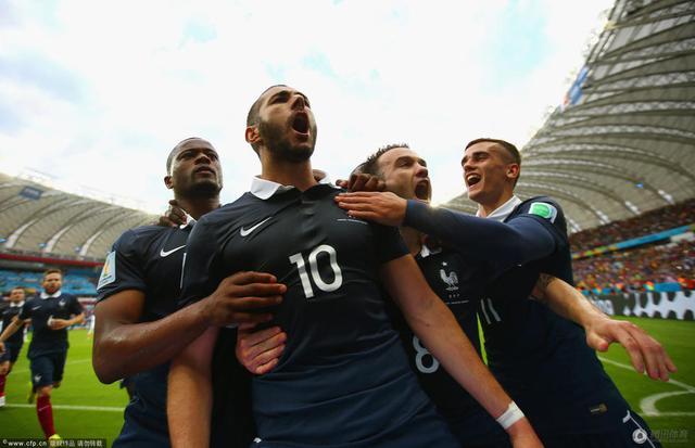 世界杯 法国3 0洪都拉斯 本泽马进2球 造乌龙