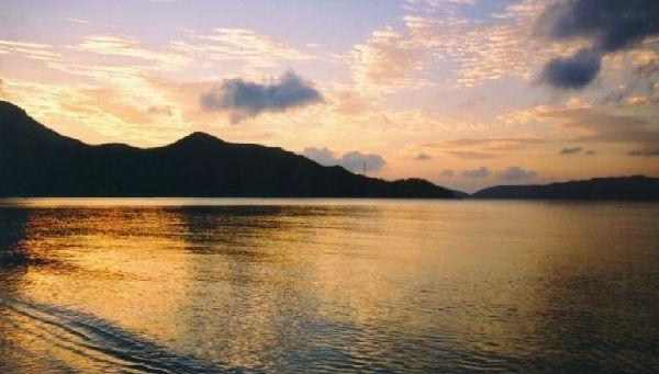 珠海海岛沙滩游 美丽荷包岛