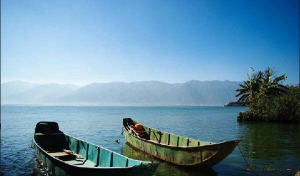 大理洱海蓬莱岛