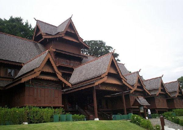 西欧式的古代建筑