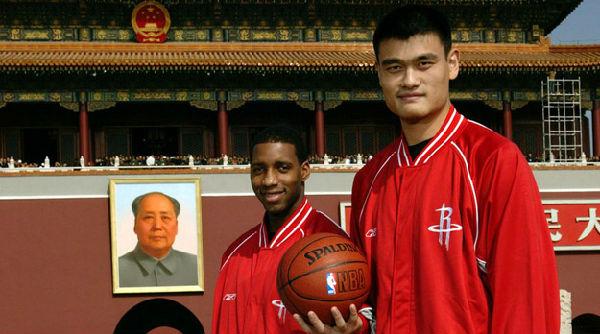 NBA中国赛由姚麦掀起的篮球热潮