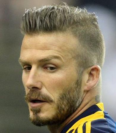 Beckham hairstyle mohawk