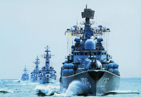 2012年中国海军舰艇新突破